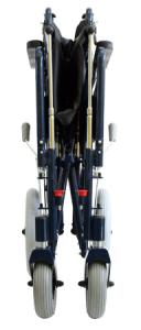 XXL Rollstuhl zusammengefaltet